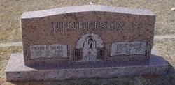 Robbie Doris <I>Jones</I> Henderson