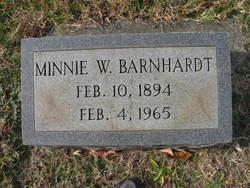 Minnie Belle <I>Williams</I> Barnhardt