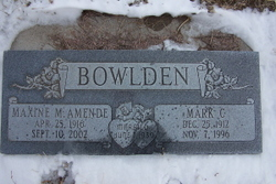 Mark C. Bowlden