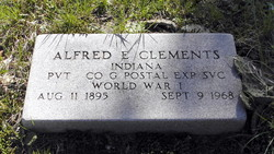 Alfred E Clements