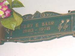 Mary Ellen <I>Sullivan</I> Baer