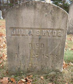 Julia S Hyde