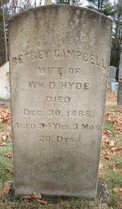 Betsey <I>Campbell</I> Hyde