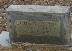 John Alexander Box