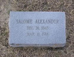 Salome Elizabeth <I>Speegle</I> Alexander