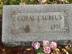 Coral I. <I>Stage</I> Surfus