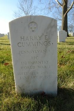 Harry E Cummings