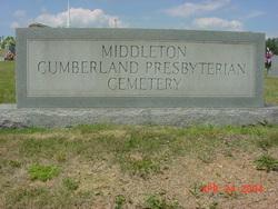 Middleton Cumberland Presbyterian Church Cemetery