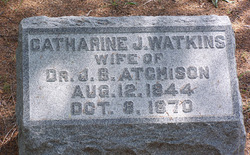 Catherine J. <I>Watkins</I> Atchison