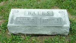 Lillie A <I>Nichols</I> Bales