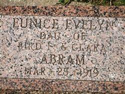 Eunice Evelyn Abram