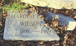 Harold Edward Wilson