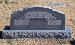 Alpha Frances <I>Shafer</I> Atchley