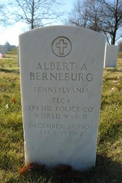 Albert A Berneburg