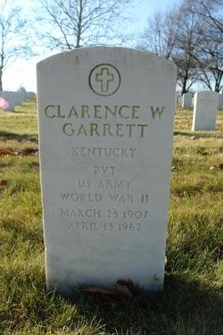 Clarence W Garrett