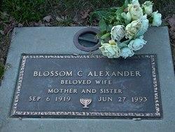 Blossom C Alexander