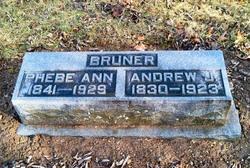 Phebe Ann <I>Thomas</I> Bruner
