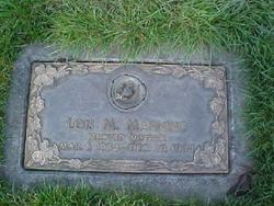 Lois Mariene Manning 1934 1994 Find A Grave Memorial