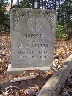 """Mary H. """"Mollie"""" <I>Lunsford</I> Amidon"""