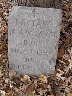 Capt William Augustus Weaver