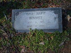 Opal Marie <I>Hisaw</I> Bennett