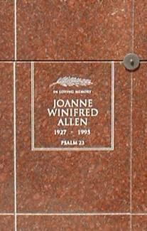 Joanne Winifred Allen