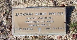 Pvt Jackson Berry Potter