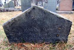 Rev John Wilson