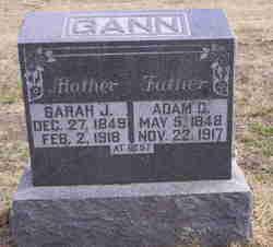 Sarah Jo <I>Bryson</I> Gann