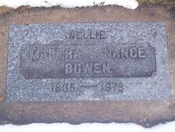 "Martha Eleanor ""Nellie"" <I>Maylin</I> Bowen"
