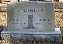 "Lewis Taylor ""Lute"" Rominger"