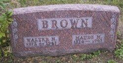 Maude M <I>Standish</I> Brown