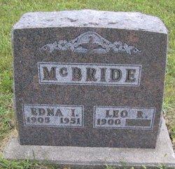 Edna I <I>Reece</I> McBride