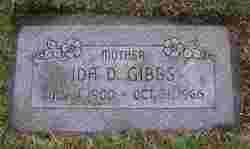Ida Delphine <I>Yokell</I> Gibbs