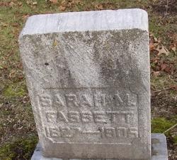 Sarah Maria <I>Fonda</I> Fassett