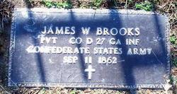 Pvt James W. Brooks