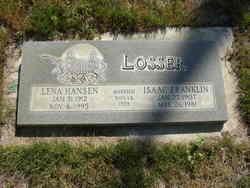 Lena <I>Hansen</I> Losser