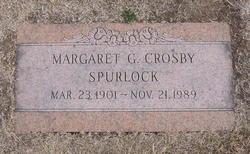 Margaret Gertrude <I>Martin</I> Spurlock
