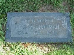 Etta Mary <I>Callaham</I> Chapman
