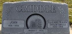 John Criddle