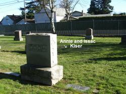 Annie <I>Hall</I> Kiser