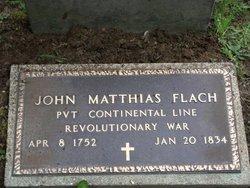 Pvt John Matthias Flach