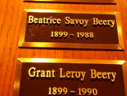 Beatrice Savoy <I>Albright</I> Beery