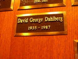 David George Dahlberg
