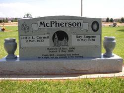 Lettie Laviney <I>Corneil</I> McPherson