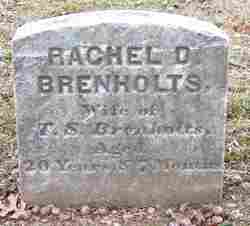 Rachel D Brenholts