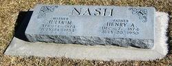 Henry Albert Nash