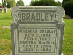 Martha <I>Bidwell</I> Bradley