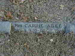Carrie <I>Cody</I> Abee