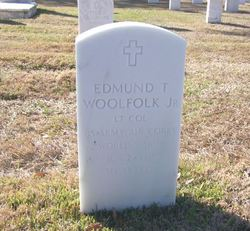 LTC Edmund T Woolfolk, Jr